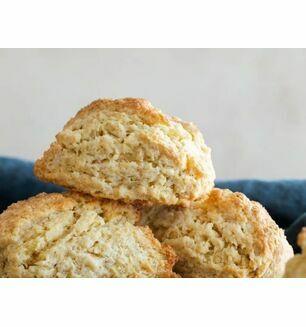 Freshly Baked Gluten Free Plain Scones -x2