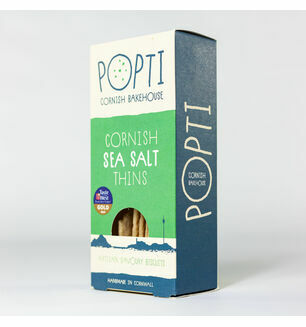 Popti Cornish Sea Salt Thins