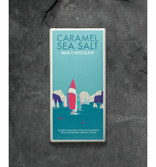 Kernow Caramel & Sea Salt Milk Chocolate - 100g