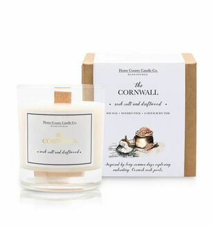 The Cornwall Rock Salt & Driftwood Candle