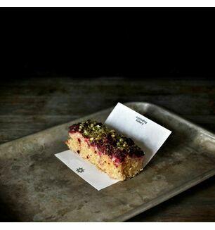 Sour Cherry & Pistachio Cake