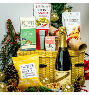 Christmas Party Hamper - Champagne