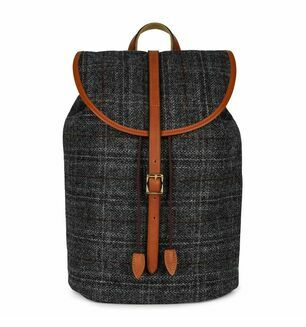 Brady Pennine Rucksack Harris Tweed Eton Grey