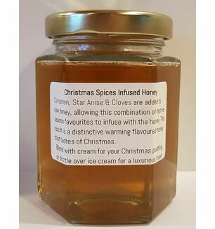 Christmas Spiced Infused Honey