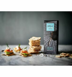 Hillside Sea Salt & Poppy Seed Biscuit