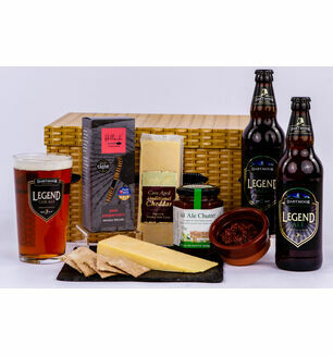 Dartmoor Ale, Cheese and Chutney Hamper