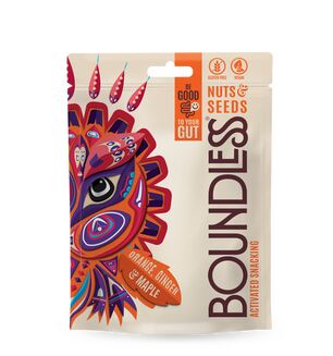 Boundless Nuts & seeds - Orange, Ginger & Maple