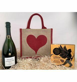 Bollinger & Truffles In A Bag