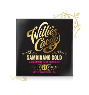 Willie's Sambirano Gold Madagascan Dark Chocolate