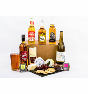 Devon Cider, Wine & Cheese Hamper
