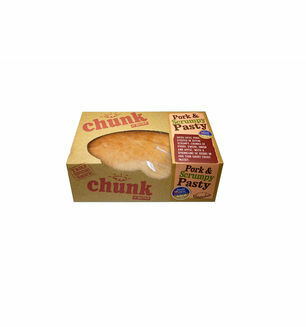 Chunk Devon Scrumpy and Pork Pasty - 260g Baked