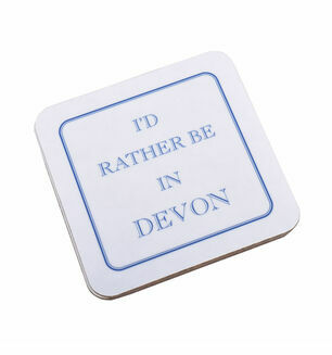 I'd Rather Be In Devon Coaster