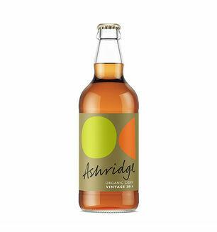 Ashridge Organic Cider Vintage 2012 500ml