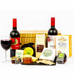 Devon Cheese &  Wine Hamper