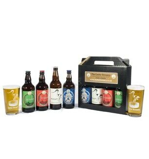Exeter Brewery Gift Set with 2 Pint Glasses