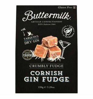 Cornish Buttermilk Crumbly Gin Fudge