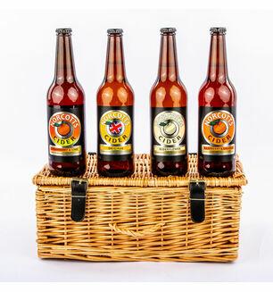 Four Devon Ciders Hamper