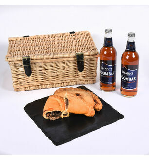 Two Cornish Ales & Steak Pasty Hamper