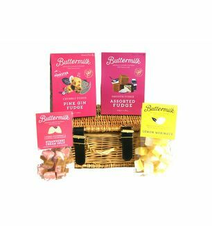 Cornish Buttermilk Fudge Selection Basket