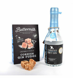 Cornish Dry Gin &  Fudge Basket