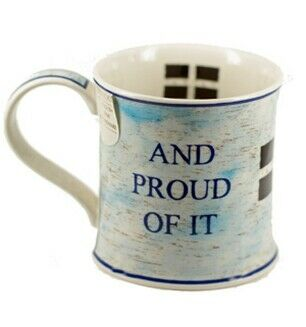 Kernow Born and Bred Mug-Dunoon
