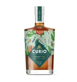 Curio Cornish Cup Gin 29% Vol