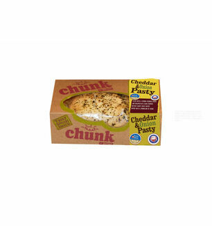 Chunk Devon Cheese and Onion Pasty - 260g Baked