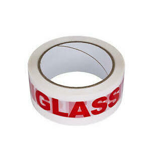 Glass Handle With Care - 50mmx66m