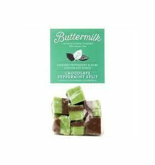Cornish Buttermilk Peppermint and Dark Chocolate Fudge