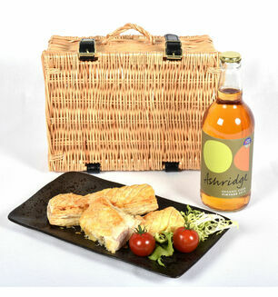 Cornish Sausage Roll & Devon Cider Picnic Basket