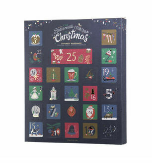 Countdown to Christmas Buttermilk Fudge Advent Calendar