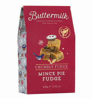 Cornish Buttermilk Mince Pie Fudge