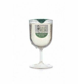Intrepid Fox Sauvignon Blanc Wine and Glass - 187ml Serving