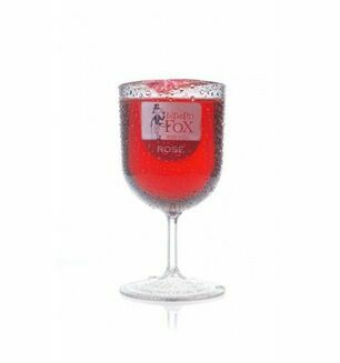 Intrepid Fox Rose Wine and Glass -187ml Serving