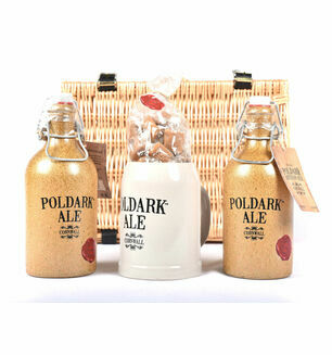 The Poldark Ale, Mug & Cornish Cream Fudge Hamper
