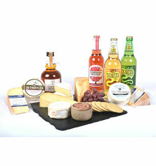 Cornish Cheese and Cider Hamper