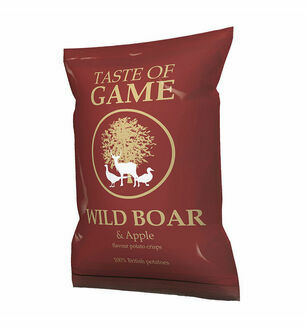 Taste Of Game Wild Boar & Apple Crisps-40gm