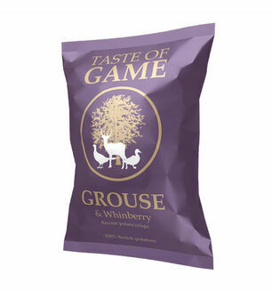 Traste of Game Grouse & Whinberry Crisps - 40g
