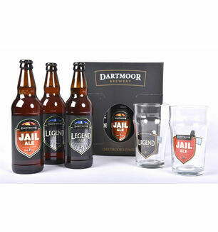 Dartmoor Brewery 3 Bottle Presentation Pack & 3 Glasses