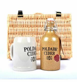 Poldark Cider Crock & Mug Gift Set
