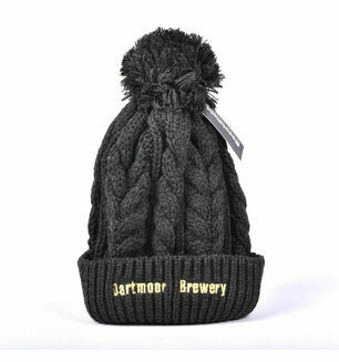 Dartmoor Brewery Chunky Ribbed Beanie Hat