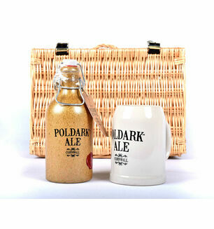 Poldark Ale Crock & Mug