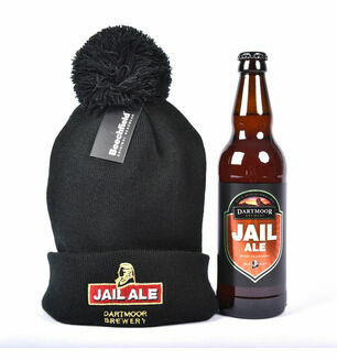 Dartmoor Brewery Jail Ale and  Dartmoor Brewery Hat