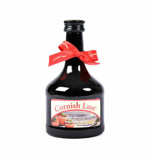 Cornish Lust Strawberry & Cream Liqueur -10cl