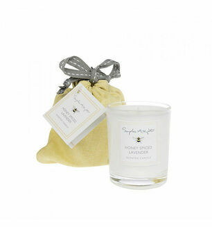 Sophie Allport Bees Honey Spiced Lavender Candle
