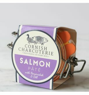 Cornish Charcuterie Salmon Pâté with Horseradish