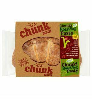 Chunki Roast Veg Pasty