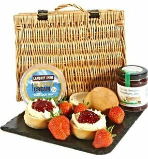 Devon Cream Tea for Two Hamper