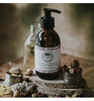 Dartmoor Soap Company Wild Rose & Geranium Hand Wash - 250ml