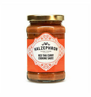Halzephron Red Thai Curry Sauce - 250gm